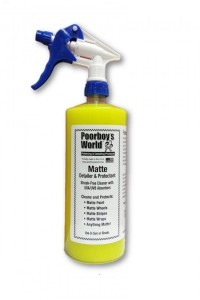 Poorboy's World Matte Cleaner & Protectant 473ml