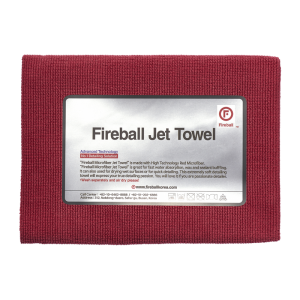 Fireball Jet Towel Red 60x40cm Mikrofibra