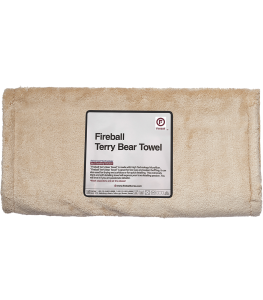Fireball Terry Bear Buffing Towel 80x40cm