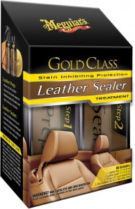 Meguiar's Gold Class Leather Sealer Treatment Zestaw