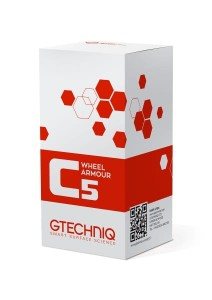 GTECHNIQ C5 Wheel Armour: Powłoka dla Felg 15ml + Panel Wipe 250ml ZESTAW!