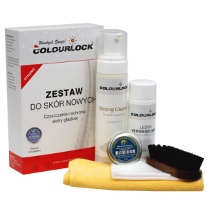 Colourlock STRONG zestaw do skór z woskiem
