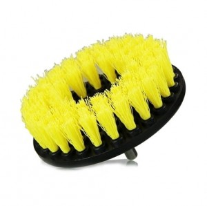 Chemical Guys Carpet Drill Medium Duty Brush Yellow