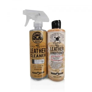 Chemical Guys Vintage Leather Cleaner & Conditioner Zestaw