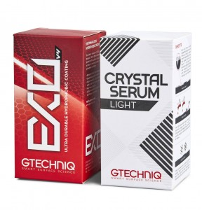 GTECHNIQ Power Couple Crystal Serum Light + EXO 50ml