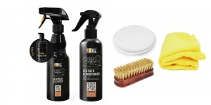 ADBL Leather SMALL KIT Cleaner + Conditioner Zestaw do czyszczenia skóry