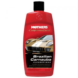 Mothers California Gold Carnauba Cleaner Wax 473ml