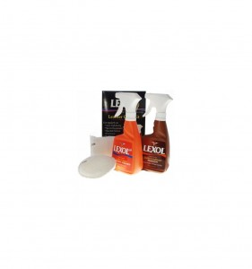 Lexol Leather Care Kit 2x500ml + 2 Aplikatory - zestaw