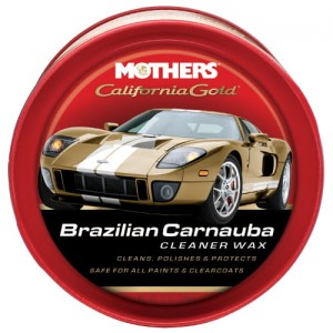 Mothers California Gold Carnauba Cleaner Wax Paste 340g