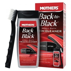 Mothers Back-to-Black Heavy Duty Trim Cleaner Kit 355ml