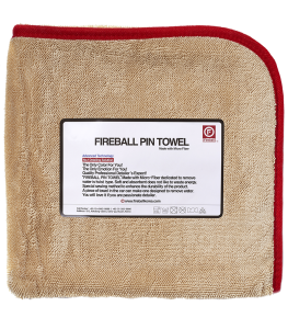 Fireball PIN Towel RED 72x95cm