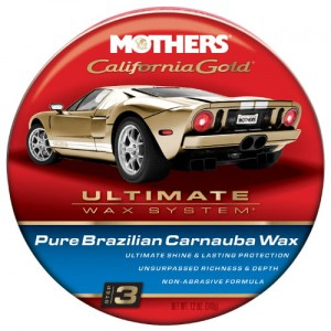 Mothers California Gold Pure Carnauba Wax Paste 340g