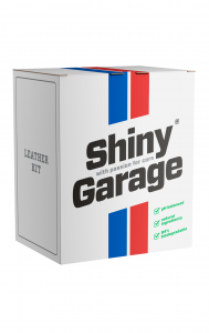 Shiny Garage Leather SOFT KIT Zestaw do skóry
