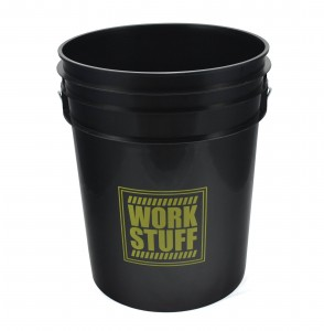Work Stuff Detailing Bucket Black RINSE